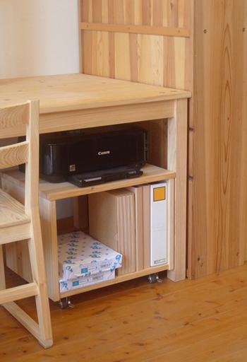 木製プリンターボックス