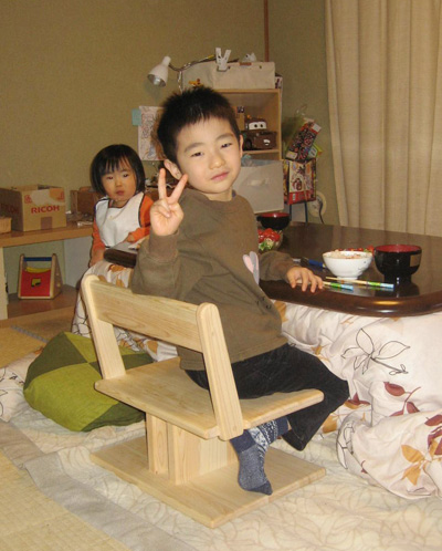 正座椅子1