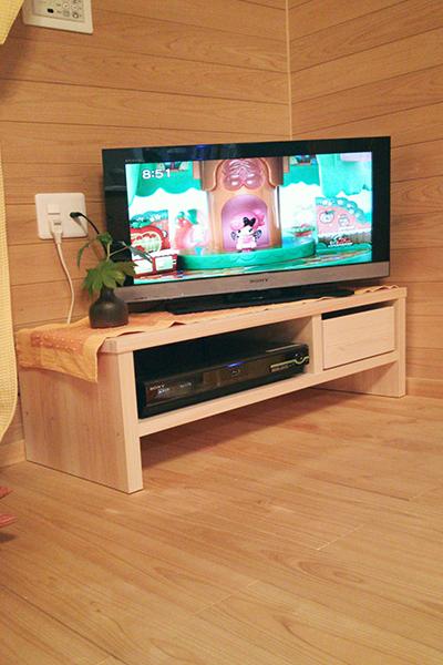 テレビボード+ランドセルラック引出