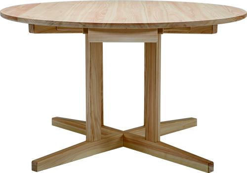 ひのき無垢 Cテーブル1