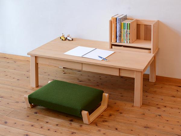 ひのき無垢 リビングデスク テーブル2