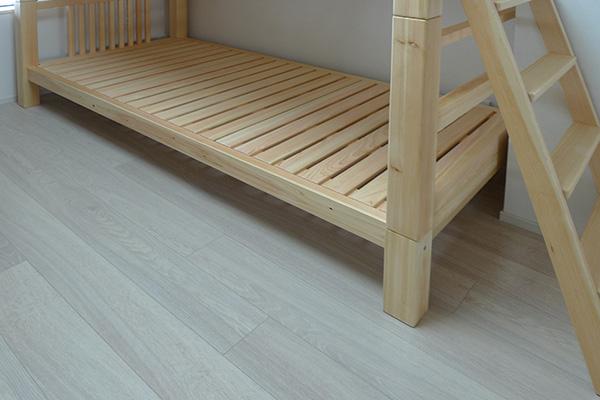 ひのき無垢 2段ベッド4