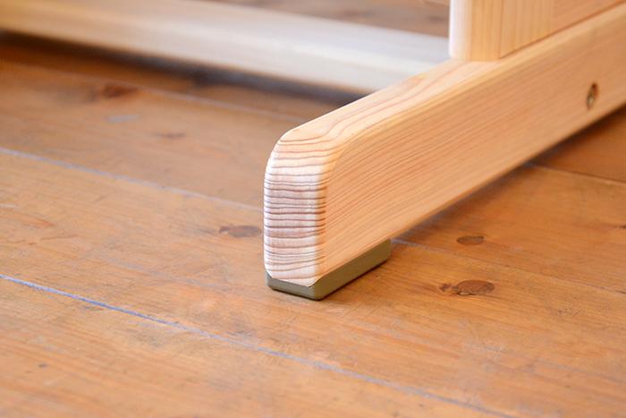 ひのき無垢 高さ調整式学習椅子6