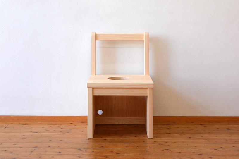 ひのき無垢 よもぎ蒸し椅子3