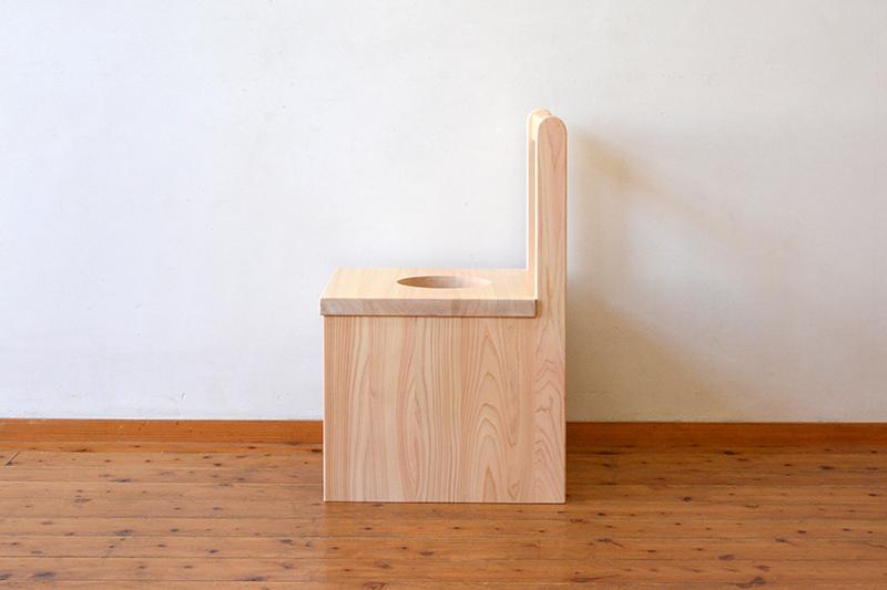 ひのき無垢 よもぎ蒸し椅子4