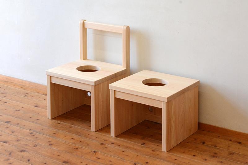 ひのき無垢 よもぎ蒸し椅子6