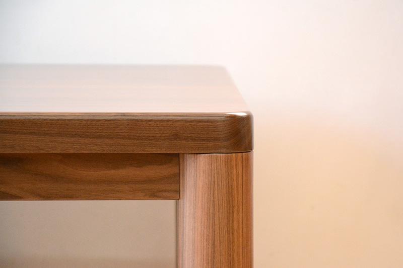 ヒノキクラフト ウォールナットの座卓3