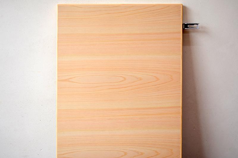 ヒノキクラフト リビングボードと吊り戸棚9