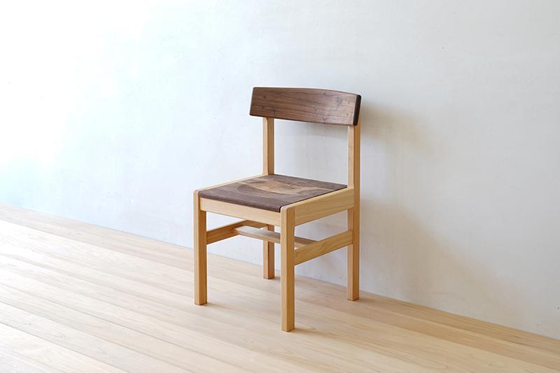 ヒノキクラフト ひのき家具 アールチェア1