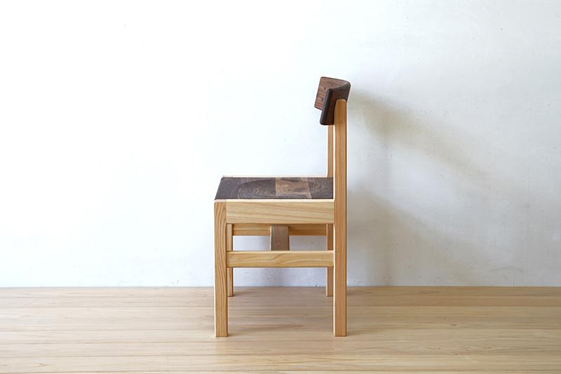ヒノキクラフト ひのき家具 アールチェア3