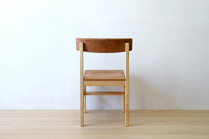ヒノキクラフト ひのき家具 アールチェア4