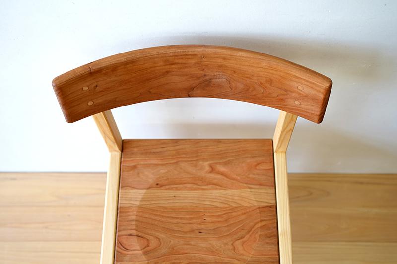 ヒノキクラフト ひのき家具 アールチェア6
