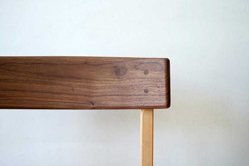 ヒノキクラフト ひのき家具 アールチェア7