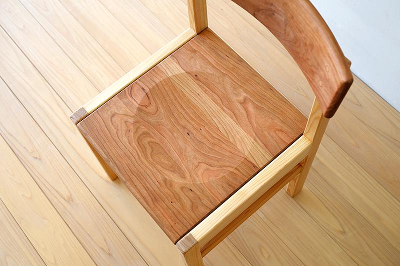 ヒノキクラフト ひのき家具 アールチェア8