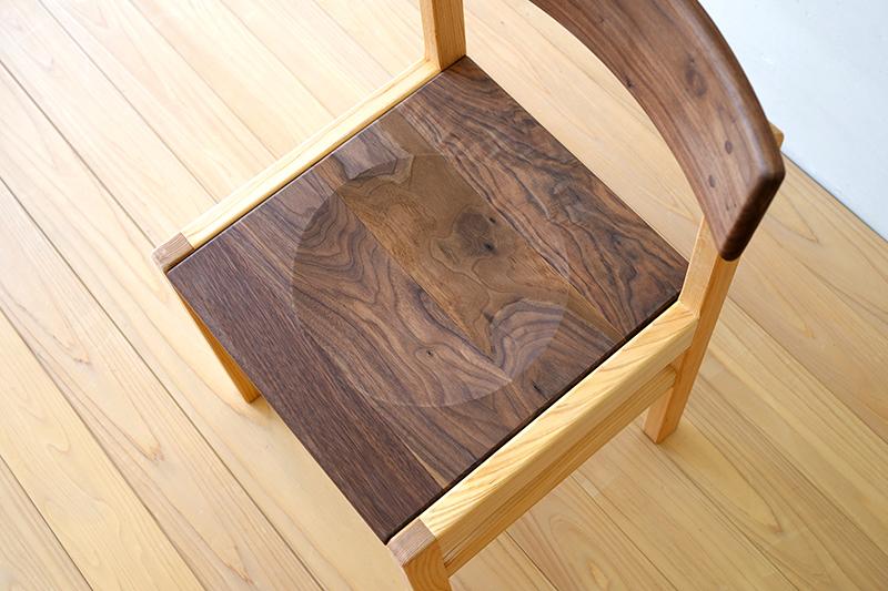 ヒノキクラフト ひのき家具 アールチェア9